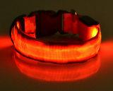 Nuovo Glow in Dark nylon LED Collari