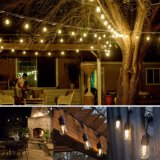 Luz vendedora caliente de la cadena del LED impermeable para decorativo al aire libre