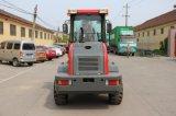 Mini carregador da roda mini equipamento agrícola de 1.2 toneladas
