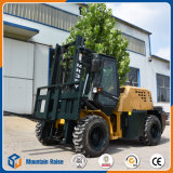 3m Dieselrauhes 3.5 Tonnen-4WD aller Gelände-Gabelstapler