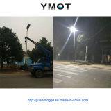 Indicatore luminoso di via solare per la lampada di 60W LED con la batteria del Li