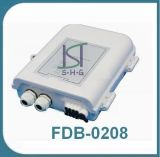8スプライスFTTHの光ファイバ配電箱(FDB-0208)