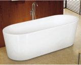 Vasca da bagno di plastica acrilica per la vasca da bagno portatile adulta