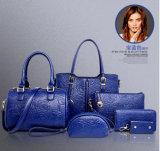 Крупноразмерная выбивая хозяйственная сумка сумки Китая мешка женщин