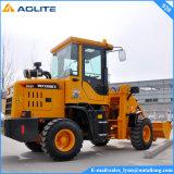 農場トラクターの1000kgの小さくコンパクトな車輪のローダー920