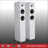 Altofalantes eretos da torre do assoalho branco eletrônico dos pares com sistema Home 3-Way do cinema de Bluetooth