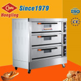 Машины хлебопекарни оптовых продаж печь палубы профессиональной электрическая с 9 подносами