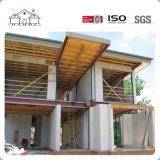 Aprire la villa prefabbricata prefabbricata di lusso della costruzione della Camera