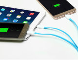 1.2m 3 in aufladendem 1USB und Daten-Kabel für iPhone, Samsung, Typ c-Mobile