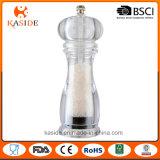 La memoria di ceramica ha passato la smerigliatrice di plastica di pepe e del sale