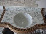 Controsoffitto della cucina della parte superiore di vanità del granito di colore rosso G664