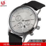 Forma nova do relógio do tipo da alta qualidade dos relógios dos homens de quartzo Yxl-660 & relógio de couro luxuoso ocasional elegantes