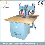 Máquina dobro unilateral de alta freqüência do soldador da estação para a parte superior de sapata