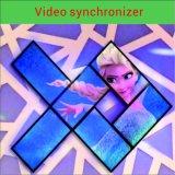 ビデオプロセッサまたはビデオシンクロナイザーのダイナミックなビデオ