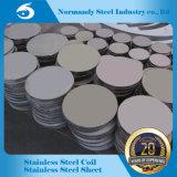 ASTM laminato a freddo il cerchio dell'acciaio inossidabile 409 con buona qualità