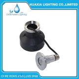 3W lumière sous-marine enfoncée de syndicat de prix ferme de l'acier inoxydable IP68 DEL