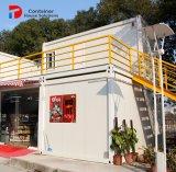 Het PrefabHuis van ISO op de Wielen/het Modulaire Huis van de Container van Huizen/Uiterst kleine Huizen