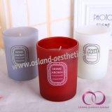 Heißer Verkaufs-duftendes Glasluxuxglas leuchtet Paraffinwachs-gerochene Kerzen durch