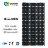300W 재생 가능 에너지 유연한 Monocrystalline 광전지 태양 전지판