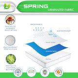 Protezione commovente molle del materasso della casella profonda del Terry del cotone del materasso di misure con la garanzia di tempo di vita