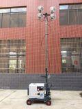 조밀한 4X160W LED 램프 밝은 빛 트레일러에 의하여 거치되는 탑 빛