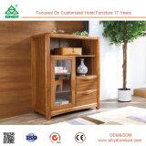 ワインラックスリランカが付いている木製の食器棚の食料貯蔵室の食器棚をアセンブルするために用意しなさい