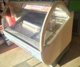 販売のための商業アイスクリームの表示フリーザー