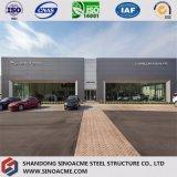 Edificio prefabbricato di Commerical della struttura d'acciaio per il negozio 4s