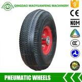 """10 de """" rodas resistentes do trole Qingdao com bordas do metal"""