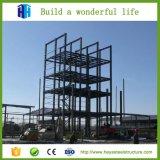 Projeto elevado do edifício da construção de aço da ascensão