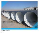 API 5L X65 Tres colocar tuberías de polietileno Revestimiento