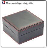Cadre de mémoire en cuir de luxe d'étalage d'emballage de montre (Sy015)