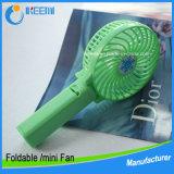 Пластичный вентилятор руки, портативный Handheld миниый вентилятор