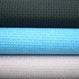 Funkeln-Gitter-strukturiertes Muster synthetisches PU-Leder für Beutel-Schuh