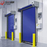 Электрические высокой эффективности быстроподвижные очищают вверх свертывают вверх дверь