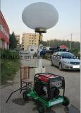 Башня воздушного шара галоидного светильника металла телескопичная светлая с тепловозным генератором (FZM-Q1000)