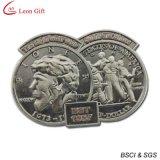 カスタムロゴの骨董品の銀製画像の折りえりPinの昇進(LM1135)