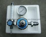 Regulador de cilindro de argón de entrada macho