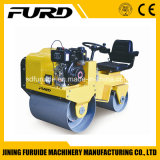 costipatore diesel del rullo del terreno del vibratore del timpano di 800kg 20kn doppio