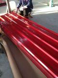 Telha de aço da cor dos materiais de Tct0.3mm Hrb85-90 SPCC para telhas de telhadura