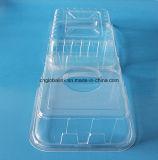 Bandeja plástica del acondicionamiento de los alimentos del envase del acondicionamiento de los alimentos de la ampolla