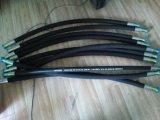 Gummischlauch der hydraulischen Flechten-580-3630psi mit hochfester Stahl-Draht