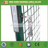 Fait dans la porte ronde de passage couvert soudée par 100X125cm de grille de jardin de treillis métallique de tube de la Chine