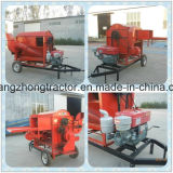 Польностью автоматическая эффективность 1000kg/Hour работы молотильщика пшеницы Diesell