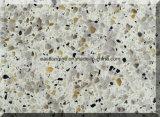As cores dobro & múltiplas projetaram a pedra de quartzo para a bancada da cozinha