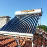 Sistema solar a presión integrante del calentador de agua