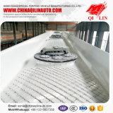 2017 de l'aluminium 45m3 de réservoir de carburant remorque chaude semi