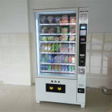 Máquina de venda automática de lanches e bebidas multifunções de design novo para venda