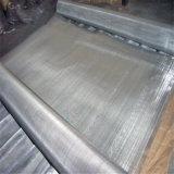 Pano de malha de arame quadrado em aço inoxidável