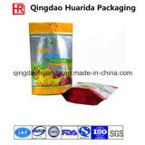 China ließ Plastikaluminiumfolie Nuts Verpackung sich bauschen/das Verpacken der Lebensmittel